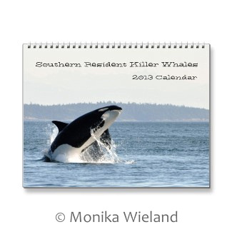 2013 Southern Resident Killer Whale Calendar